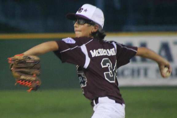 League City National pitcher Keegan McDermott helped give the league its first District crown in seven years and just the third in 22 years.