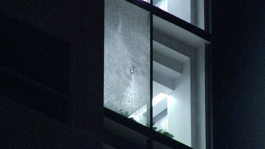 San Antonio police are investigating an overnight shooting that left windows shattered at a government agency office on the city's Northeast Side, authorities said.  Photo: Ken Branca