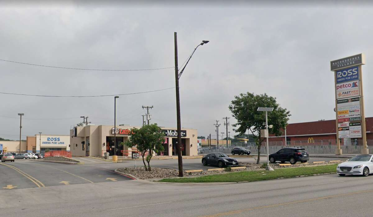 San Antonio police are searching for two men involved in shooting and killing a man behind a Northeast Side strip mall, officials said.