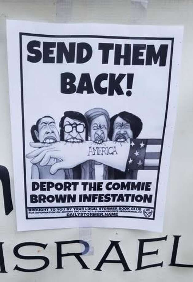 Racist, anti-immigrant fliers found at South Seattle synagogues.
