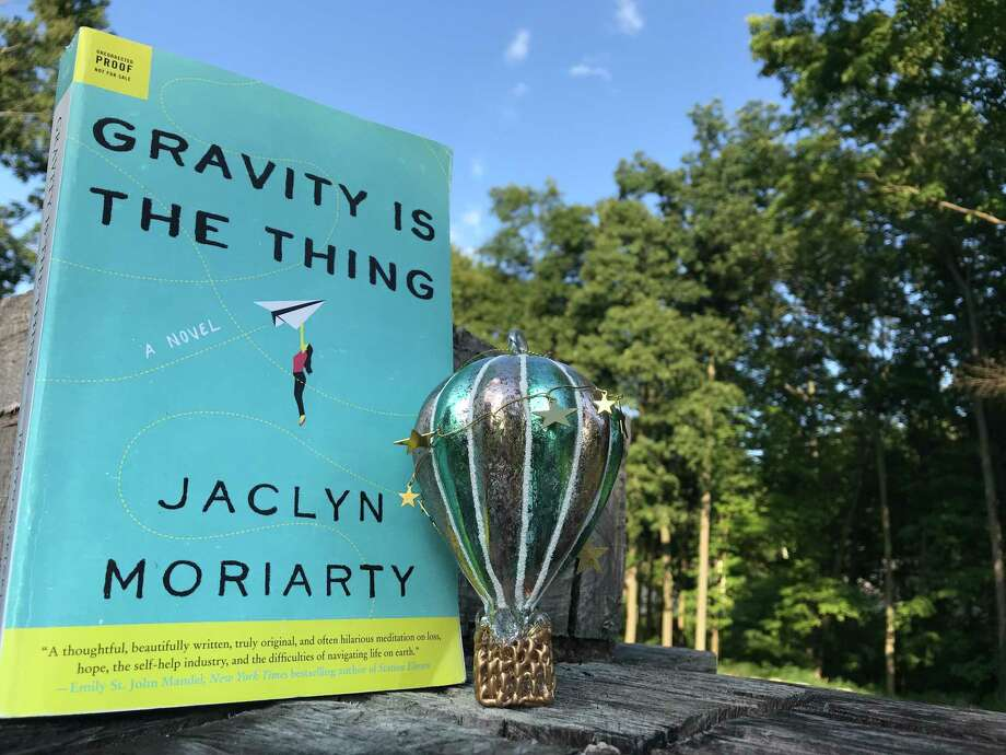 """Gravity is the Thing"" explores grief and the self help industry. Photo: TinaMarie Craven / Hearst Connecticut Media /"