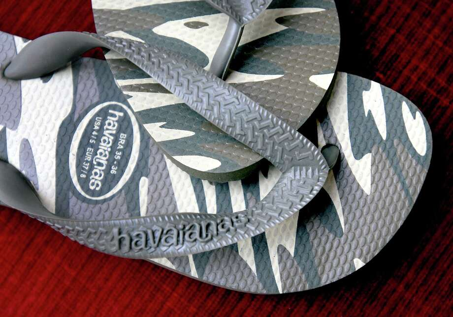 Havaianas flip flops from Brazil. Photo: Arnold Gold