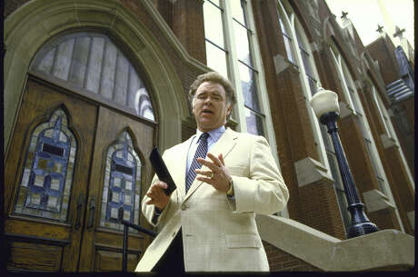 Southern Baptist Convention leader Paige Patterson at First Baptist Church, Dallas, Texas in 1985.