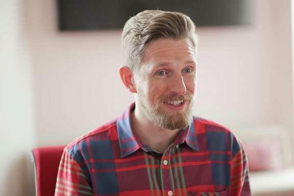 WordPress co-creator and CEO Matt Mullenweg talks to the Houston Chronicle on Thursday, March 14, 2019 in Houston.