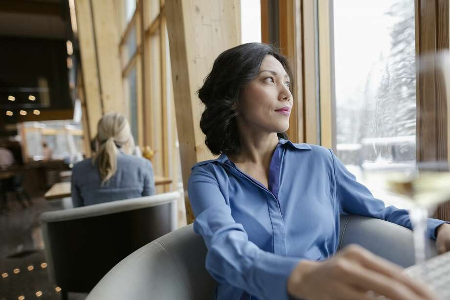 A woman enjoys her alone time. Photo: Hero Images/Getty Images/Hero Images