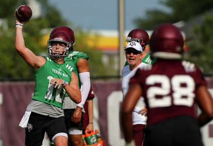 d6db7931331 A&M extra points: Freshman QB's strong right arm - HoustonChronicle.com
