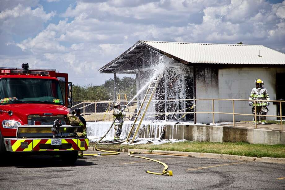 A fire destroyed the bathrooms at Kidsville Monday morning. Photo: Don Brown/For The Herald