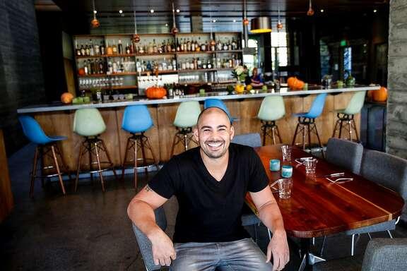 Louis Maldonado of Spoonbar in the restaurant in Healdsburg, Calif., on Thursday, October 22, 2015.
