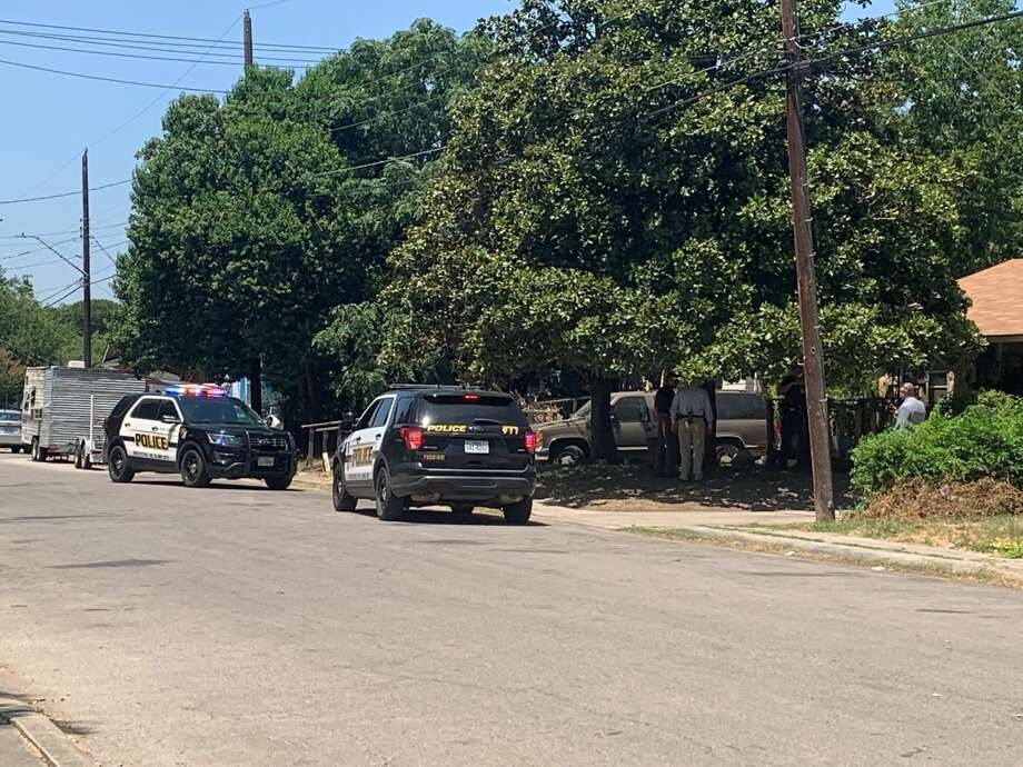 A man was taken to a local hospital after he was shot in the leg following a drive-by shooting on the city's East Side, San Antonio police said. Photo: Priscilla Aguirre