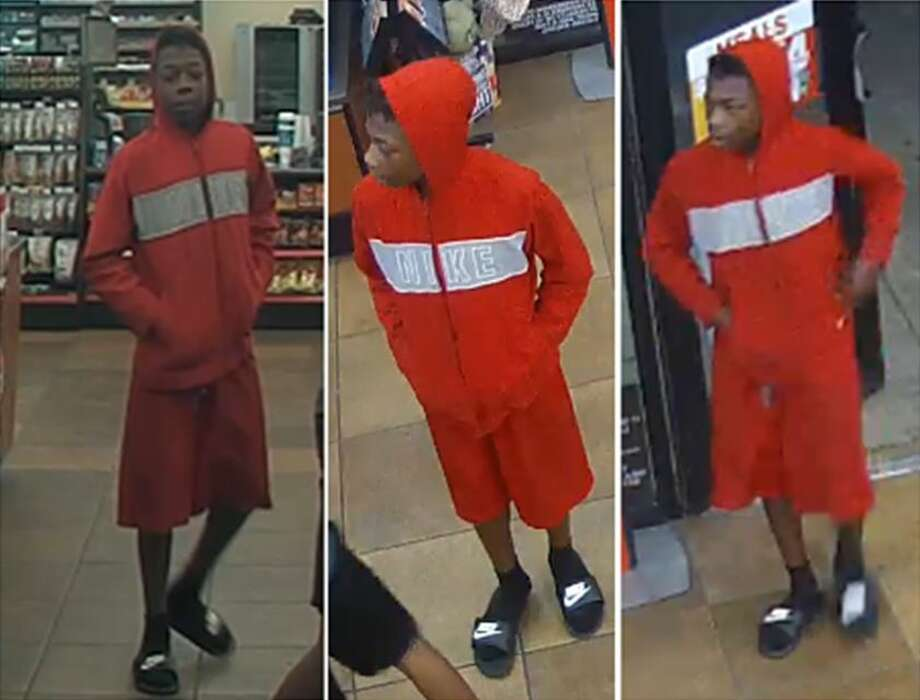 San Antonio police need the public's help identifying a male suspect that they said threatened to shoot a store clerk during a robbery of a Circle K on the city's Northeast Side.   Photo: Crime Stoppers
