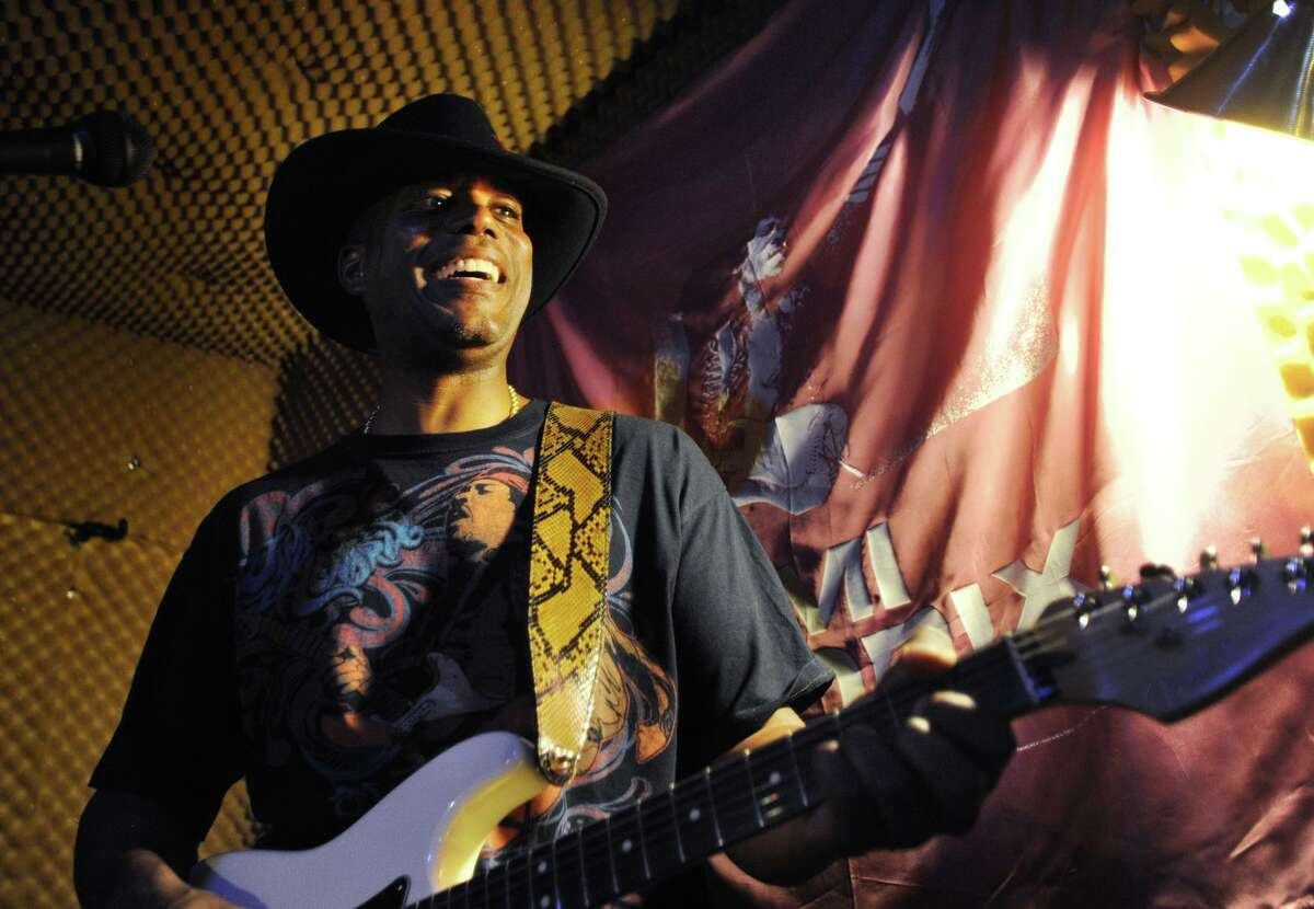 State Sen. George Logan, R-Ansonia, will bring his Electric Lady Band, which pays tribute to the songs of Jimi Hendrix, to Rock the Valley at Ansonia's Nolan Field on Aug. 24, 2019. The festival, which will run from 2 p.m. to 10 p.m., concludes with fireworks.