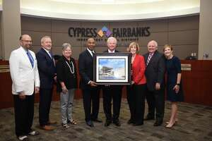 MS19 Namesake: Harold Rowe, who retired as CFISD's associate superintendent for technology and school services in 2012, will be the namesake for Middle School No. 19, Harold R. Rowe Middle School, which will open in the 2020-2021 school year.