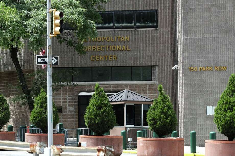 The Manhattan Correctional Center where Jeffrey Epstein was found dead in New York. Photo: Getty