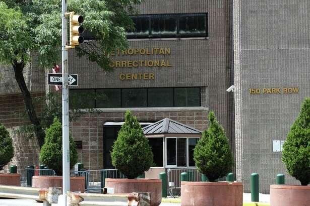 The Manhattan Correctional Center where Jeffrey Epstein was found dead in New York.