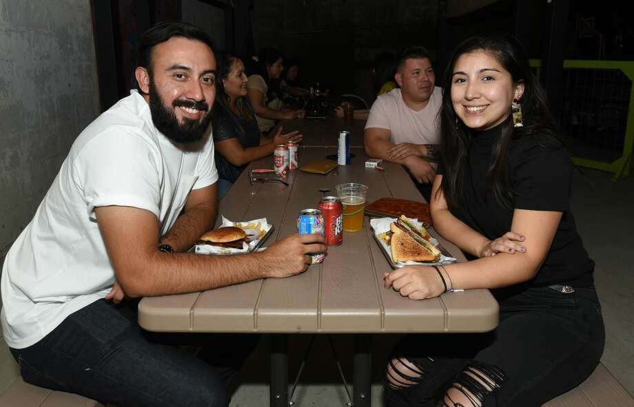 Saturday night at Cultura Beer Garden. Photo: Danny Zaragoza