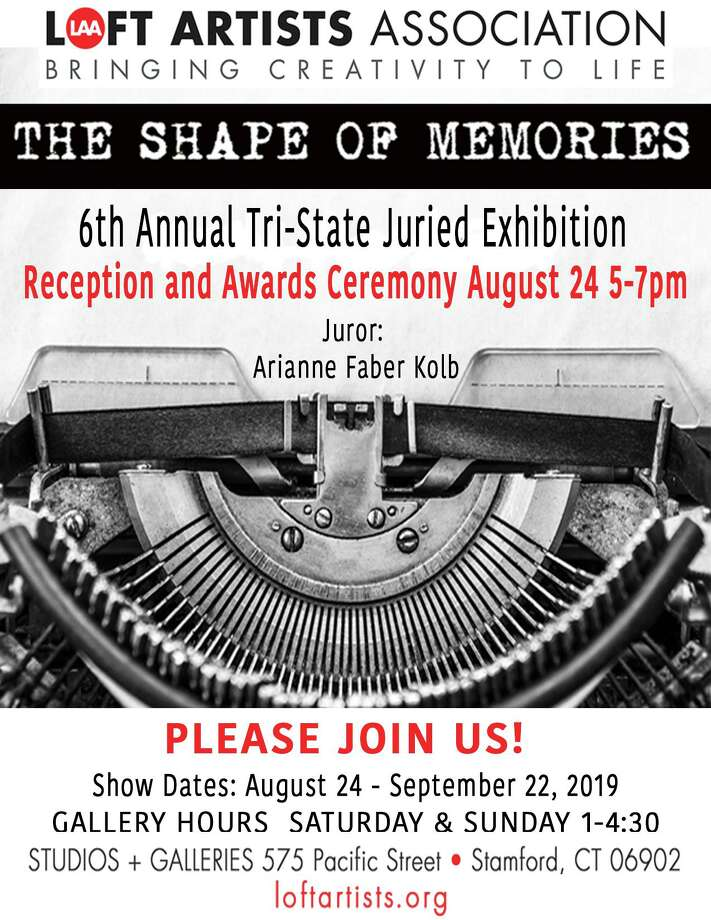 "Stamford's Loft Artists Association's sixth annual Tri-state juried exhibition, ""The Shape of Memories,"" is running Aug. 24-Sept. 22. Photo: Loft Artists Association / Contributed Photo"
