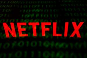 """(FILES) This file illustration picture taken on February 18, 2019 shows the US Online Streaming giant Netflix logo displayed on a tablet in Paris. - """"Game of Thrones"""" and Netflix are tipped by TV industry watchers to dominate  the Emmy nominations that will be announced on July 16, 2019 as Hollywood gears up for awards season. (Photo by Lionel BONAVENTURE / AFP)LIONEL BONAVENTURE/AFP/Getty Images"""