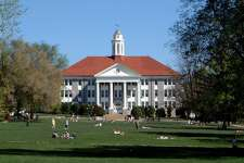 #100. James Madison University - Location: Harrisonburg, VA - Undergraduate enrollment: 18,905 - Student to faculty ratio: 16:1 - Acceptance rate: 75% - Graduation rate: 83% - In state tuition: $10,878 - Out-of-state tuition: $27,278 - Six year median earnings: $56,600 - Two year employment rate: 96% This slideshow was first published on theStacker.com