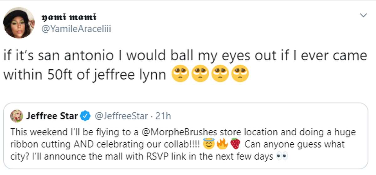 @YamileAraceliii: if it's san antonio I would ball my eyes out if I ever came within 50ft of jeffree lynn