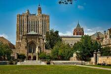 #5. Yale University - Location: New Haven, CT - Undergraduate enrollment: 5,743 - Student to faculty ratio: 6:1 - Acceptance rate: 7% - Graduation rate: 97% - Tuition: $51,400 - Six year median earnings: $83,200 - Two year employment rate: 92% This slideshow was first published on theStacker.com
