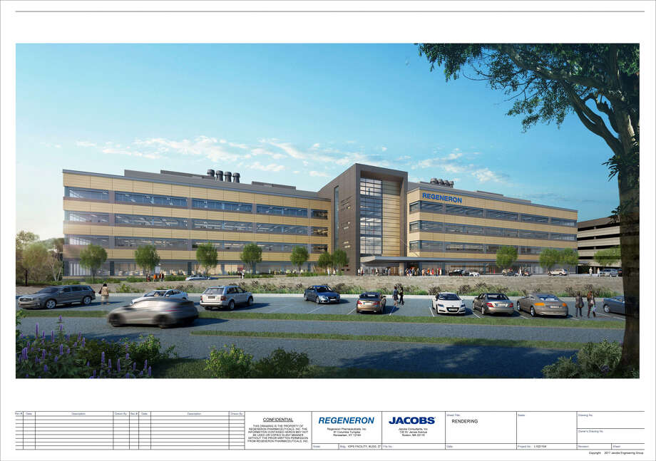 A view of the Regeneron plan Photo: Courtesy Town Of East Greenbush