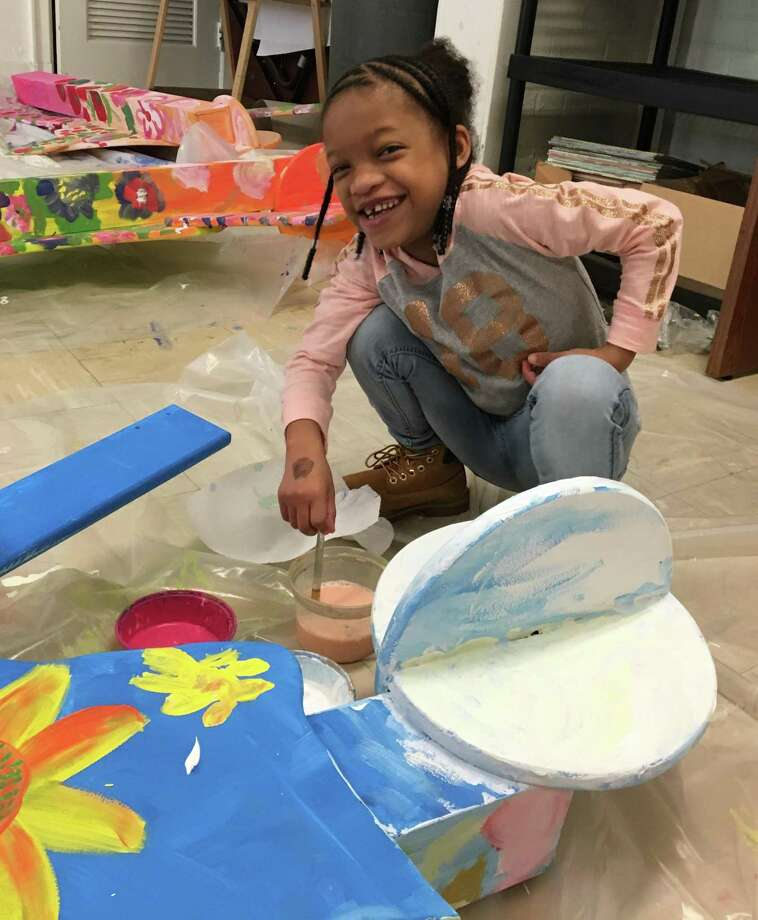 A grant from Newman's Own will help Silvermine Arts Center continue its outreach into area schools. Photo: Contributed Photo / Silvermine Arts Center / New Canaan Advertiser Contributed