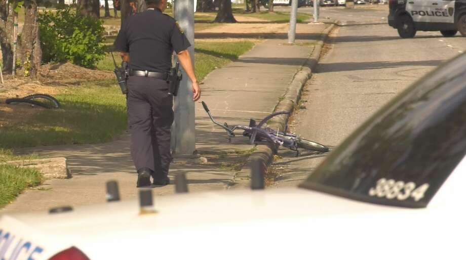 Houston police on Tuesday, Aug. 13, are investigating what appears to be the third fatal crash involving a bicyclist in the last two days. Photo: Jay R. Jordan