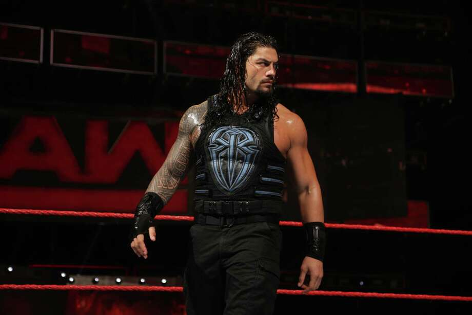 WWE superstar Roman Reigns will face Drew McIntyre this Saturday at WWE Live Super Show at the Toyota Center. Photo: Courtesy WWE
