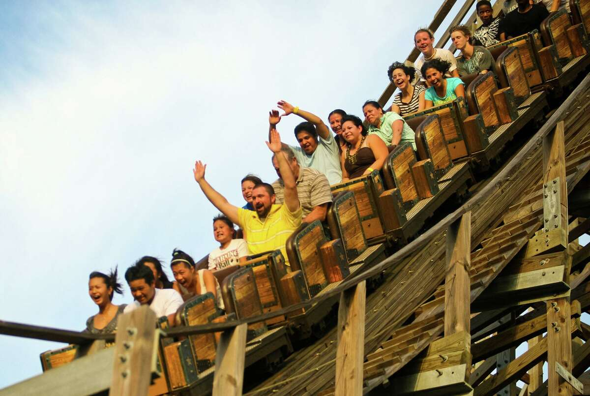 Celebrate National Rollercoaster Day at Kemah Boardwalk this Saturday.