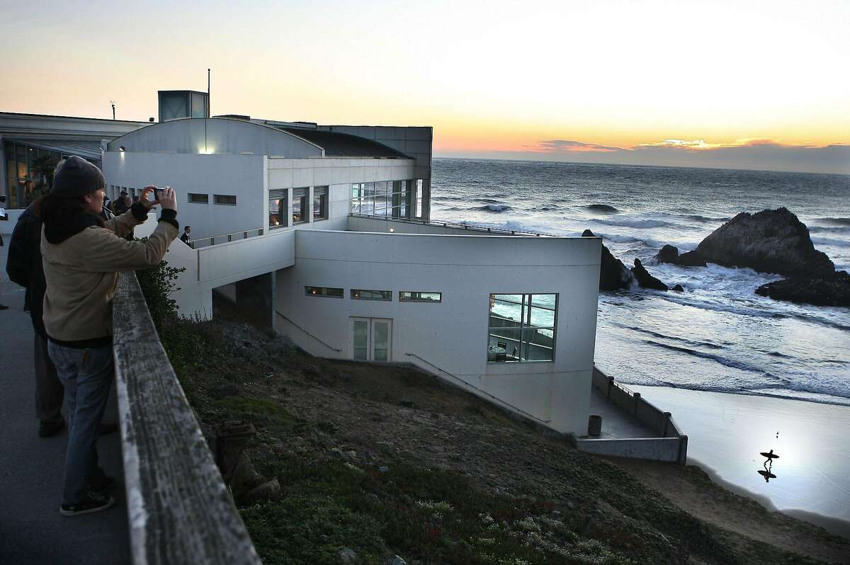 The National Park Service announced its search for a new lease holder for the Cliff House, the immortal restaurant (which was twice destroyed by fire) at Ocean Beach overlooking the Sutro Bath ruins, as well as the Lands End Lookout Café. Photo: The Cliff house during sunset in San Francisco, Calif., on Thursday, November 10, 2011.