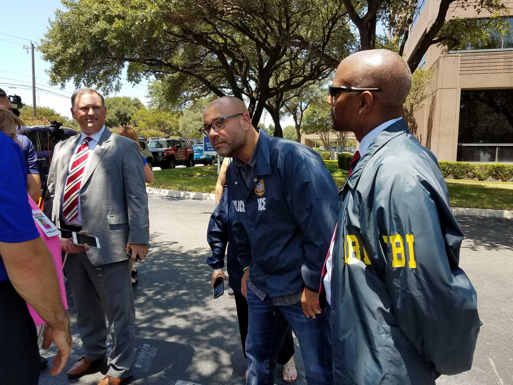 FBI investigating shootings at San Antonio buildings that house immigration agency offices