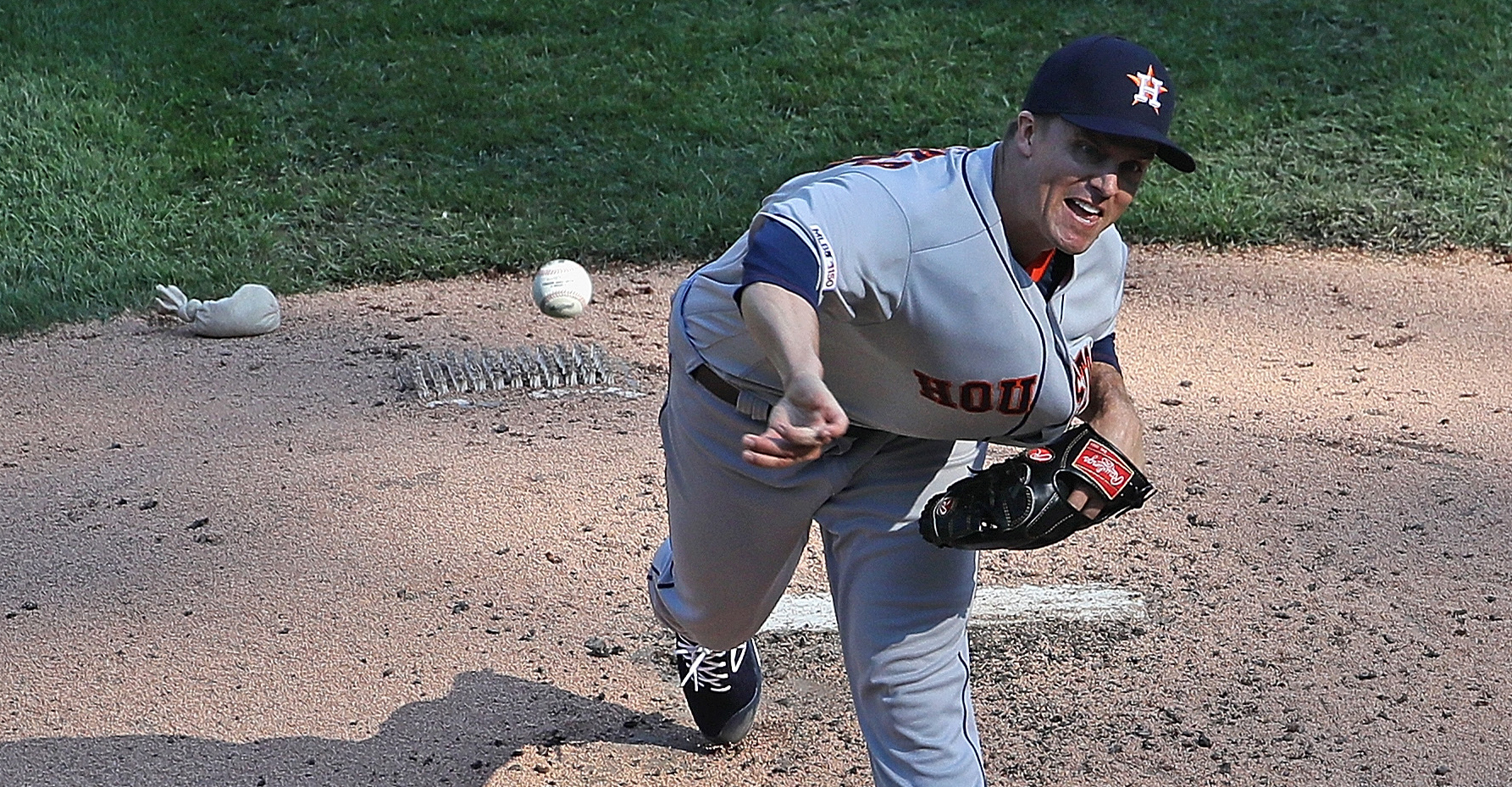 Astros, Zack Greinke beat White Sox in first game of doubleheader
