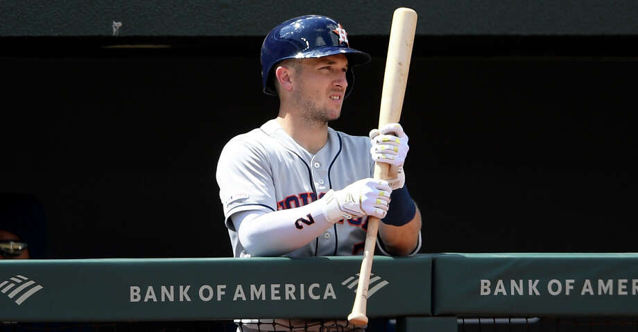 PHOTOS: Astros game-by-game Houston Astros' Alex Bregman stands in the dugout during a baseball game against the Baltimore Orioles, Sunday, Aug. 11, 2019, in Baltimore. (AP Photo/Nick Wass) Browse through the photos to see how the Astros have fared in each game this season. Photo: Nick Wass/Associated Press / Copyright 2019 The Associated Press. All rights reserved.