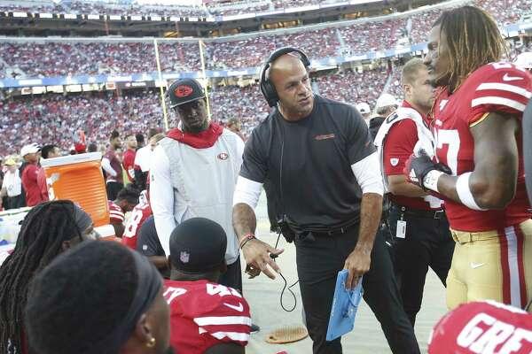 Continuity concerns? 49ers defensive coordinator Robert Saleh has a few