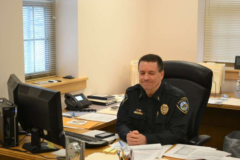 Darien Police Chief Ray Osborne will be retiring Sept. 1. Photo: Contributed Photo / Connecticut Post