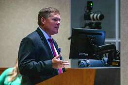 CISD Chief Financial Officer Darrin Rice gave a preliminary budget overview Tuesday night.