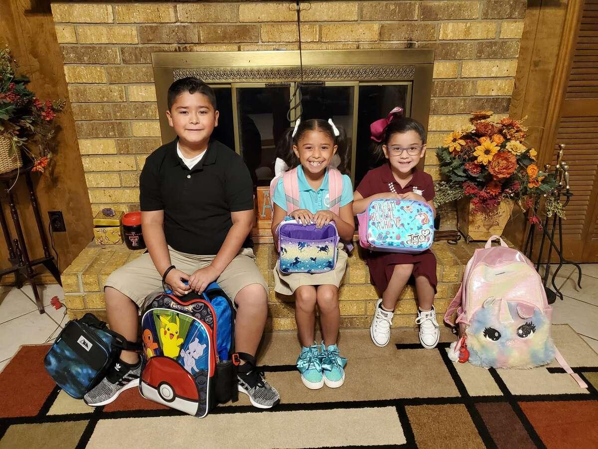 Jr Fuentez 5th grade, Daizee Fuentez 3rd grade, Evelyn Ortega Kinder -- Fannin Elementary 2019
