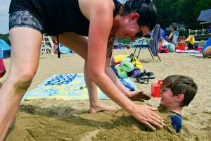 Brown's Beach has reopened after being closed due to high E. coli levels.