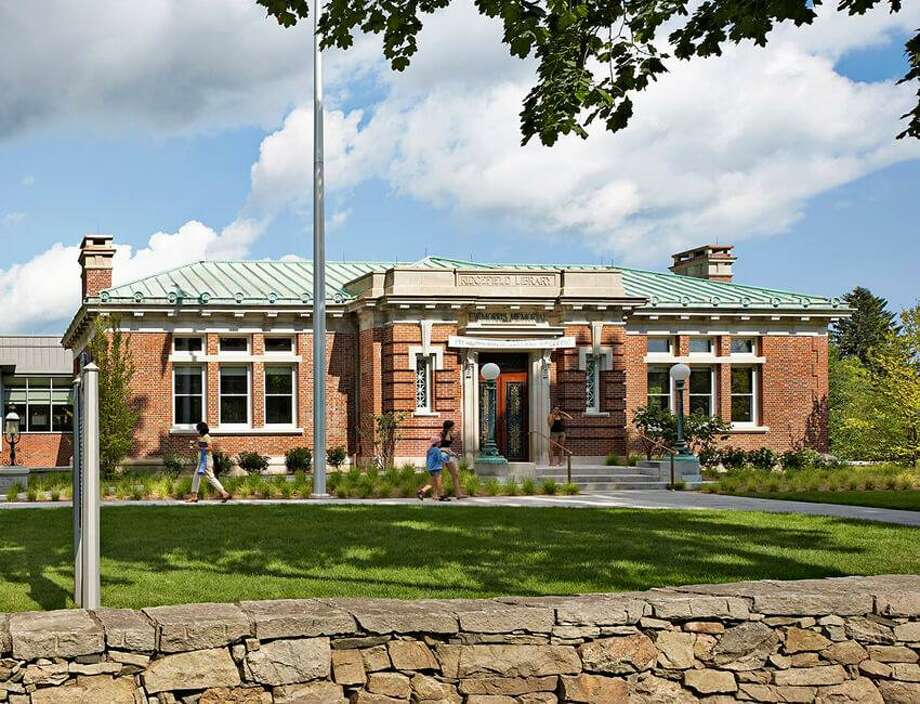 The Ridgefield Library. Photo: Contributed Photo.