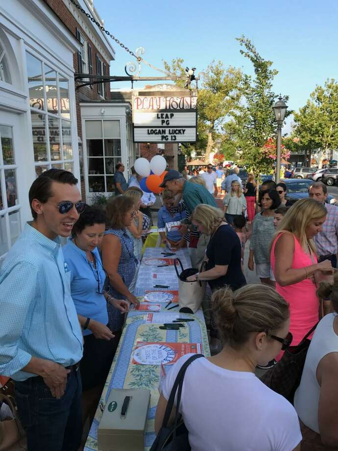 Explore New Canaan, which takes the place of the Taste of the Town Stroll, will be held in New Canaan Aug. 22. Contributed photo Photo: Contributed Photo