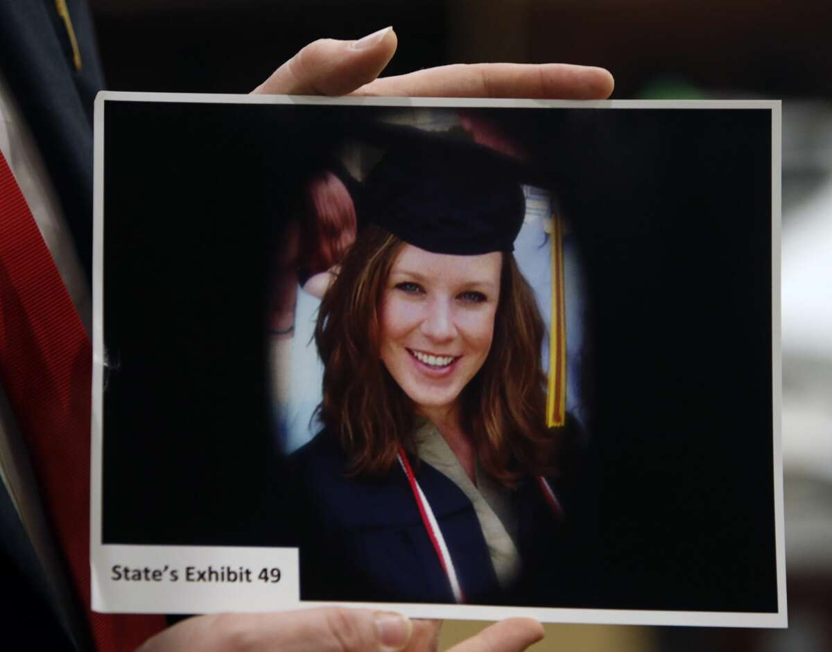 Copy of photo of Laura Carter. Miguel Martinez was found guilty of murdering Carter.