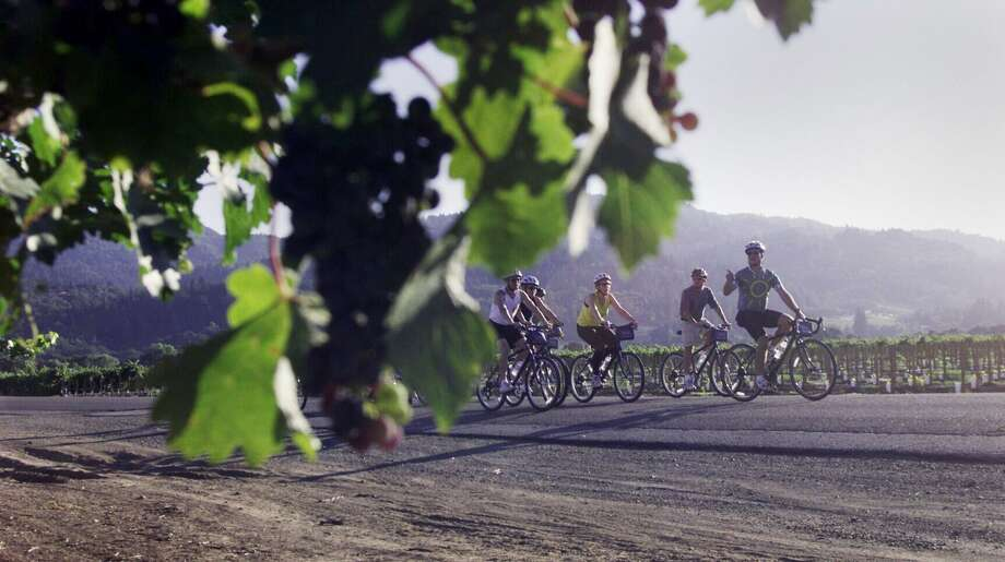 Getaway Adventures offers bike tours in the Napa area and in Italy. Photo: CHRIS STEWART, Staff / SFC / CHRONICLE