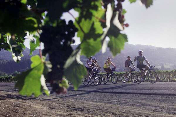 Getaway Adventures offers bike tours in the Napa area and in Italy.