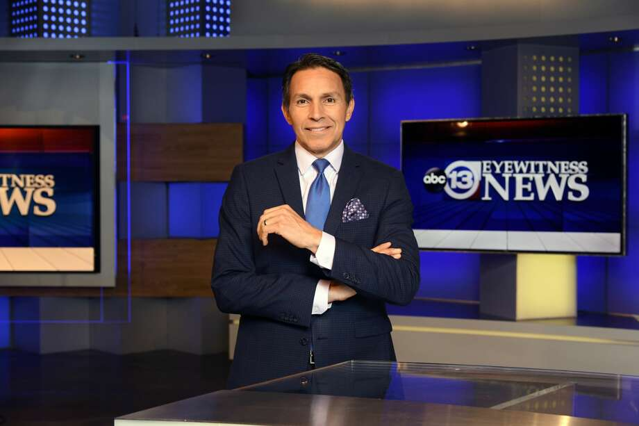 PHOTOS: ABC13's Art Rascon is back behind the anchor desk after a health scare last week.