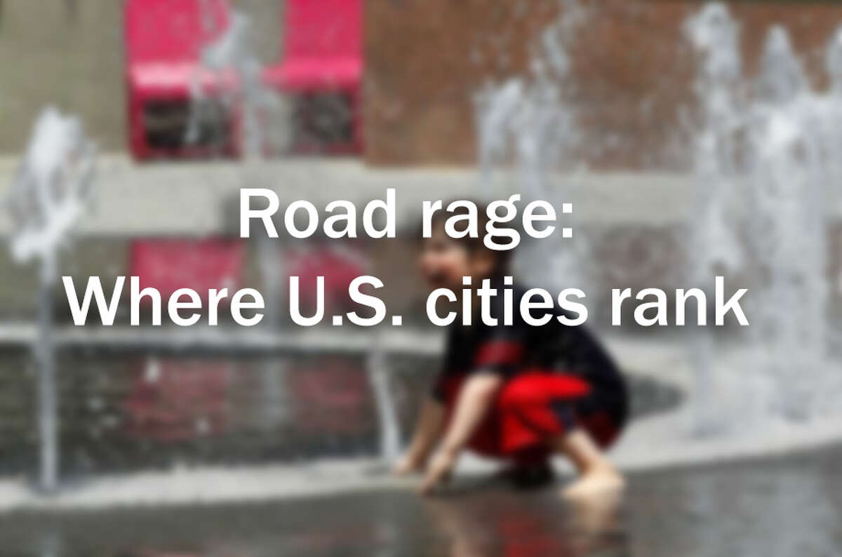 Road rage: Where U.S. cities rank
