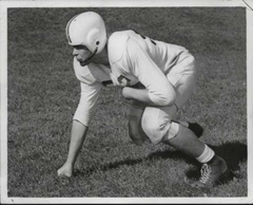 Philip Schuyler High School's Ted Romanowski, seen in the 1950s.