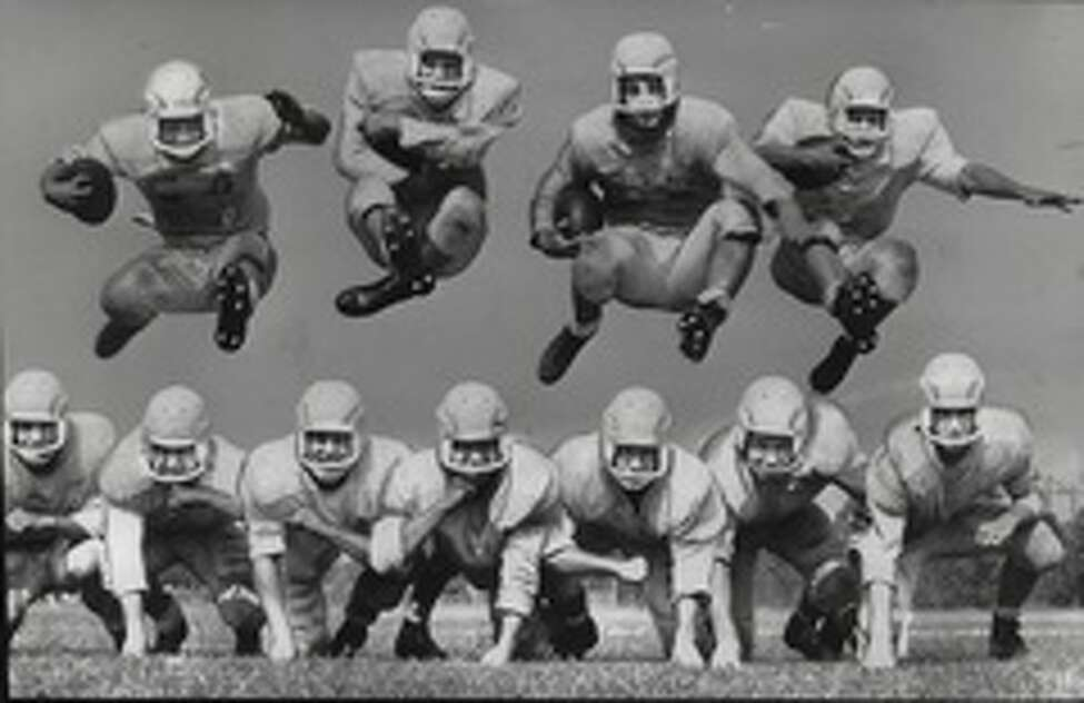 Columbia High School football team in 1959.