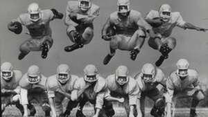 Columbia High School football team, East Greenbush, New York. September 09, 1959 (Times Union Archive)