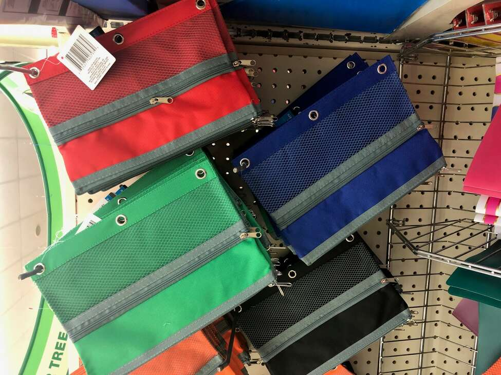 Best buys Pencil bags: Offered in a variety of shades, these zippered pouches are half the price of comparable products sold elsewhere.