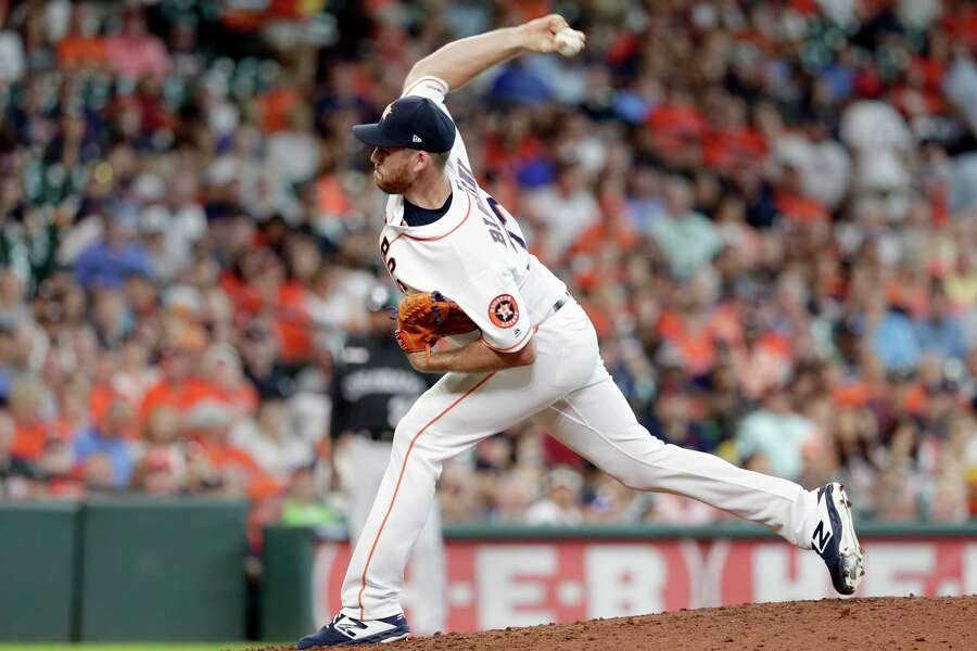 Astros: Bullpen roster crunch led to reliever Joe Biagini's demotion -  HoustonChronicle.com